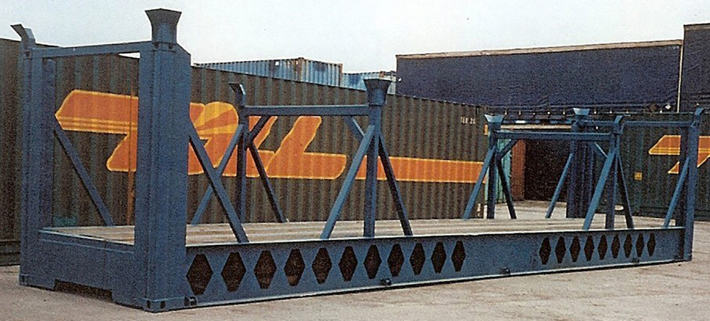 Container Pro Container Modifications Boat Saddle