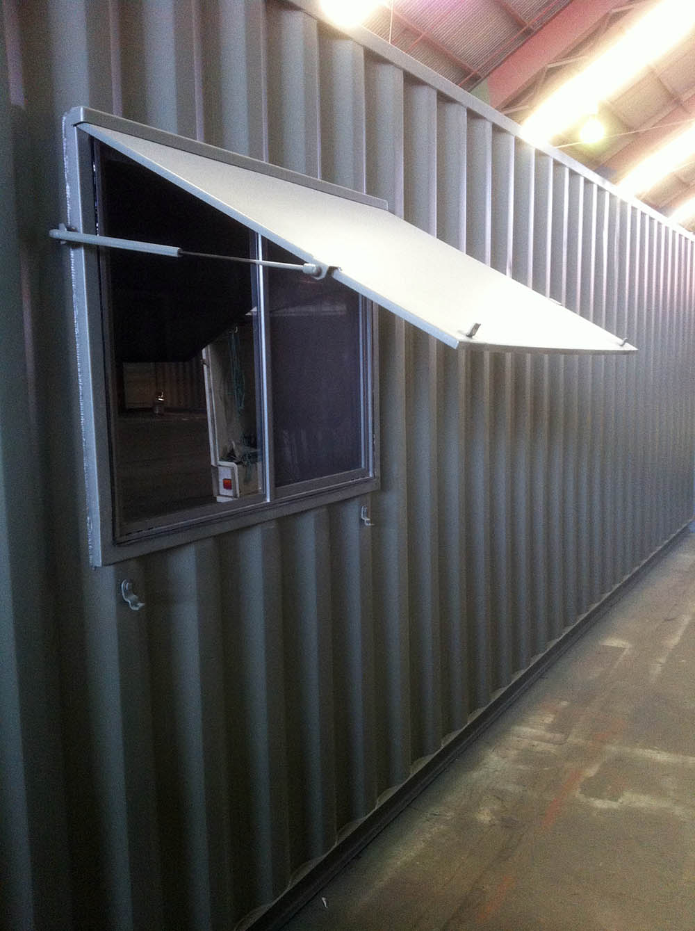 Container Pro Container Modifications Lockable Window