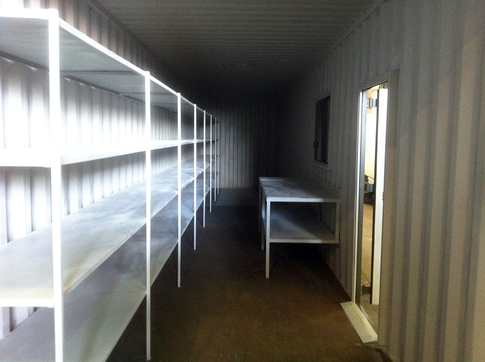 Container Pro Container Modifications Shelving