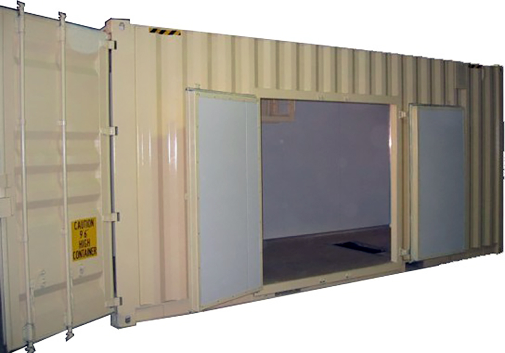 Container Pro Container Modifications Wide Door