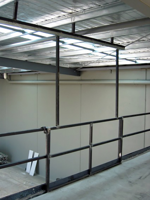 Container Pro Steel Fabrication Warehouse Rails