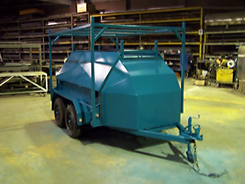 Container Pro Steel Fabrication Custom Tradesman Trailer