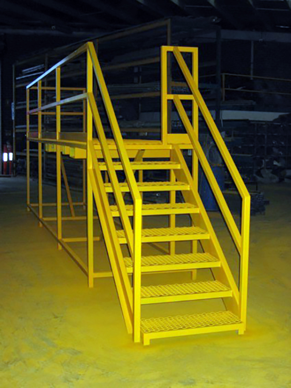 Container Pro Steel Fabrication Walk Ramp Platform